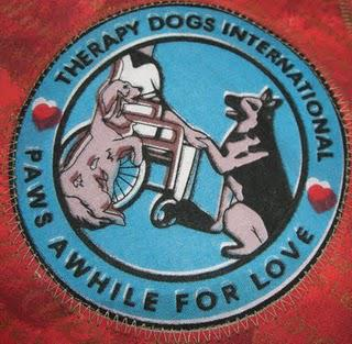 Therapy Dogs International and a New Scarf