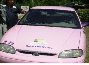 pink cab gives rides to mammograms