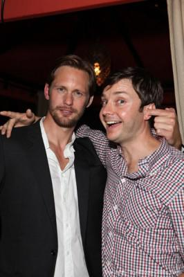 Alexander Skarsgård, Ryan Kwanten and Michael McMillian Comic Con Buddies