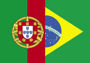 Portuguese language flags - learn portuguese in portugal