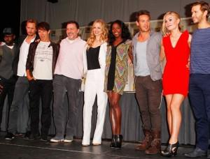 True Blood cast at Comic-Con panel