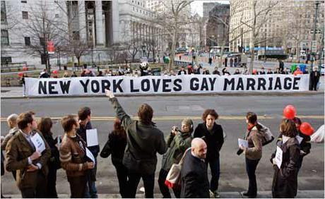 How do you feel about NY's same-sex marriage ruling? Submit your opinion to the online zine Grrrl Beat!
