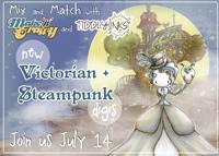 Make it Crafty & Tiddly Inks ~ {Victorian Steampunk} release July 14th