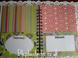 Ellephantastic Mid Month Tutorial {Card Organiser}