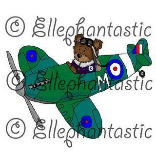 WIN WIN WIN!!! Do you want to win Roger ~ Pilot digi stamp?