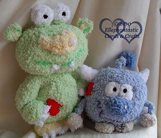Erica Martyn's 'The Peepos' ~ Knitted by Ellephantastic!!!