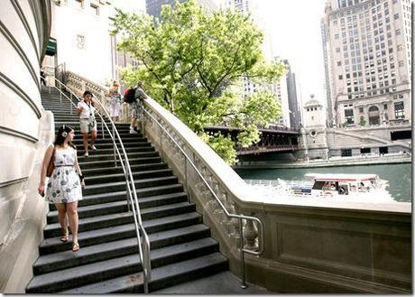 en route - Chicago Shakespeare, One Step at a time 2