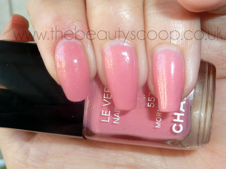 NOTD Chanel Morning Rose (557) Nail Polish - Summer 2011 'Les Fleurs D'été' Collection!