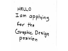 Design Cover Letter Presentation