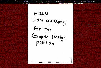 Design CV Cover Letter Presentation Paperblog