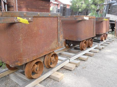 Antique Railroad Carts