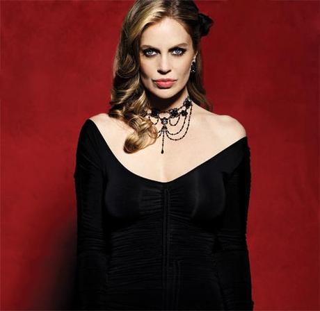 True Blood's Kristin Bauer van Straten as vampire Pam