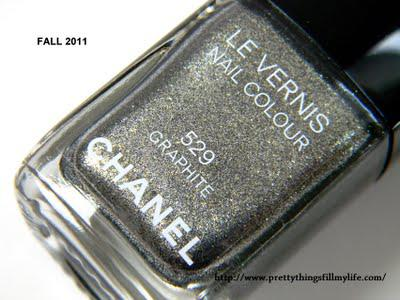 CHANEL Illusions D'Ombres in Graphite Review  and Swatches