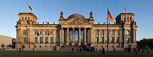 Reichstag building - learn german in germany