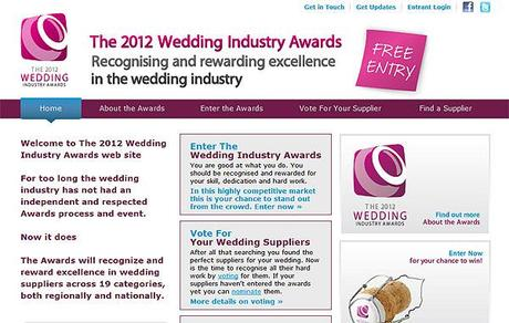 The 2012 Wedding Industry Awards