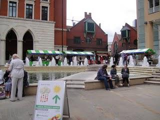 Local Produce Market - Brindleyplace, Birmingham
