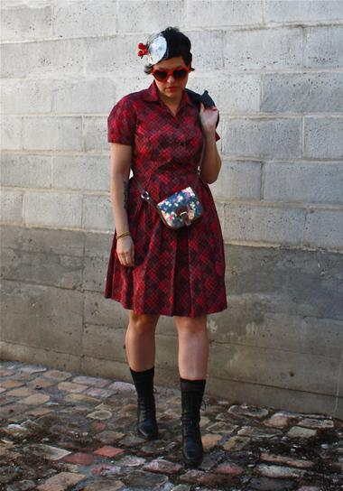 outfit post: Spin it, Spinster