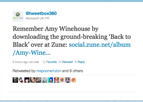 How not to respond to the death of Amy Winehouse