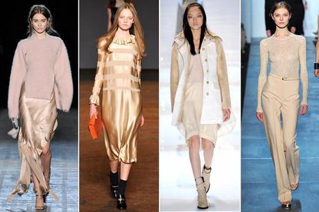 champagnerunwayFashion Color Trends: Oohing Over Fuschsia, Mint and Champagne