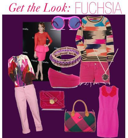 FUCHSIAFashion Color Trends: Oohing Over Fuschsia, Mint and Champagne