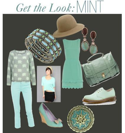 MINTFashion Color Trends: Oohing Over Fuschsia, Mint and Champagne