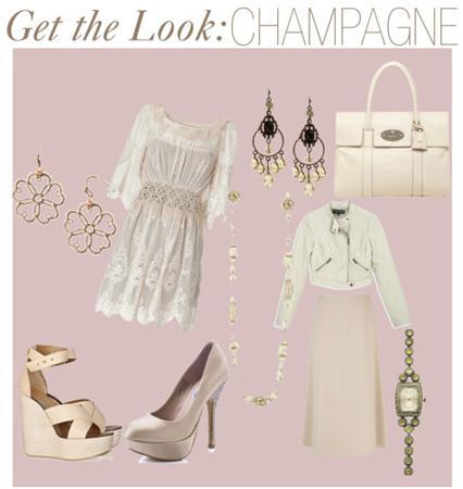 CHAMPAGNEFashion Color Trends: Oohing Over Fuschsia, Mint and Champagne