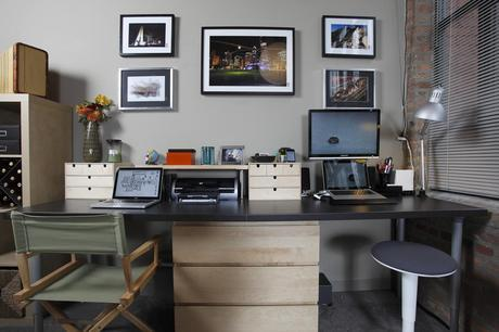 Home office for two?  How to make the space work