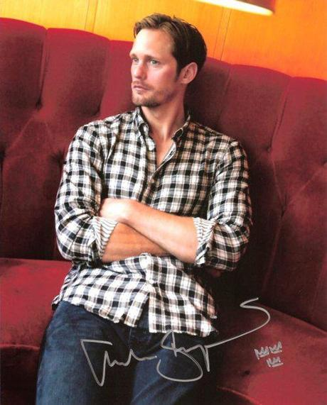 New Autographed Alexander Skarsgård Items for Auctoin on eBay