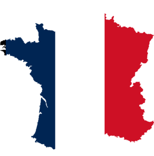 France Flag - learn french in france