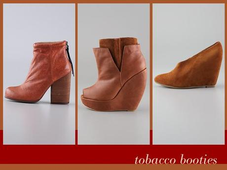fall trend: tobacco booties