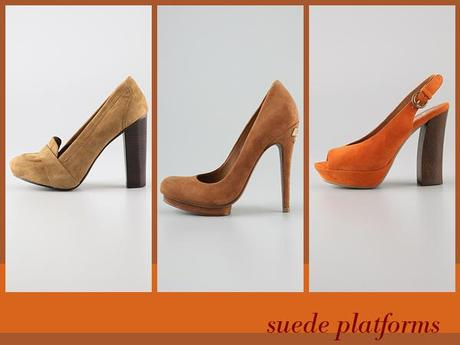fall trend: suede platforms
