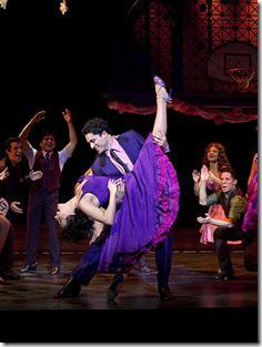 Michelle Aravena and German Santiago - West Side Story
