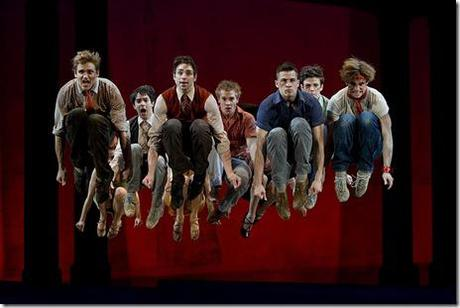 West Side Story national tour - male cast