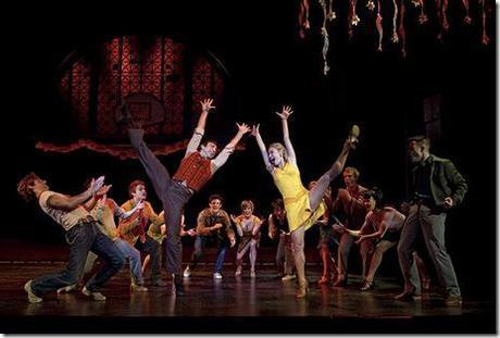 School dance scene - West Side Story