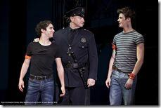 Ryan Christopher Chotto, Mike Boland and Grant Gustin