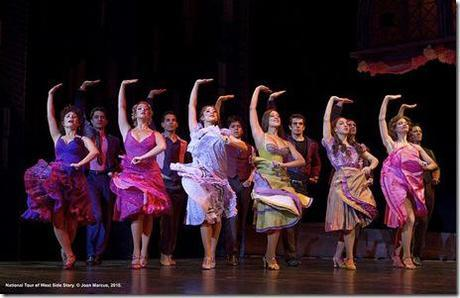West Side Story national tour - female cast