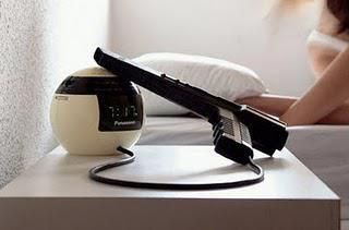 Ever Want to Shoot the Alarm Clock?
