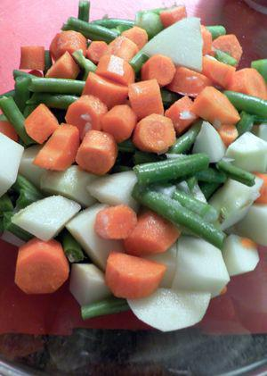 Navratan Korma - Steam vegetables1