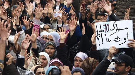 Middle East Wholly Engulfed by Protests