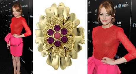 emmastone ring1Fab Find Friday: The Summer Style of Emma Stone