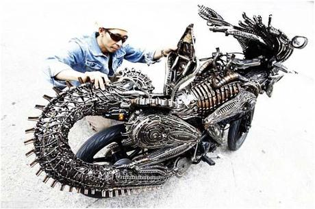 Amazing Monster Energye Bike In Thailand 3