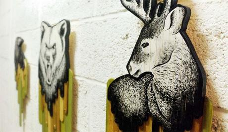 Wall Design of Animals 6