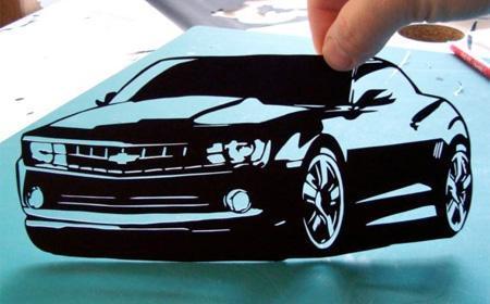 Amazing Paper Cutouts 1