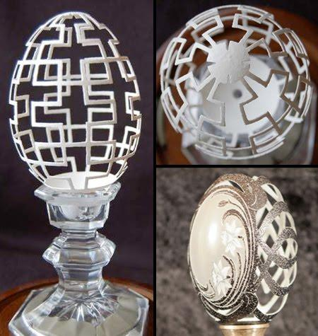 Amazing Carvings For Egg by Brian Baity 2