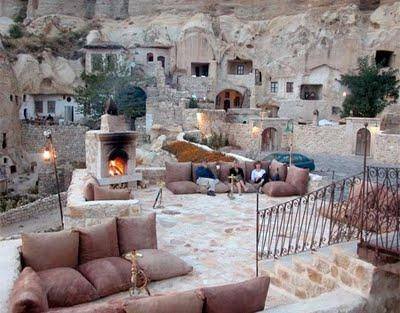 Amazing Hotel Made in Cave in Turkey 7