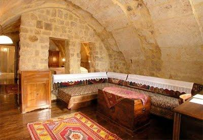 Amazing Hotel Made in Cave in Turkey 1