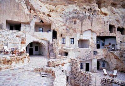 Amazing Hotel Made in Cave in Turkey 6