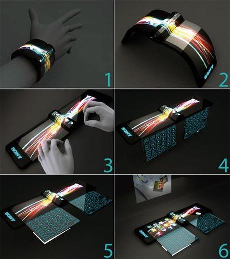Futuristic Designed Pc Of Sony 1
