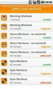 VirtuaGym Workouts