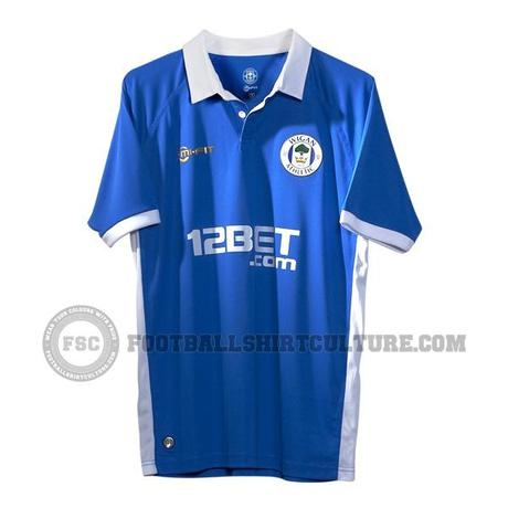 Wigan Athletic 11/12 Mi-Fit Home Shirt